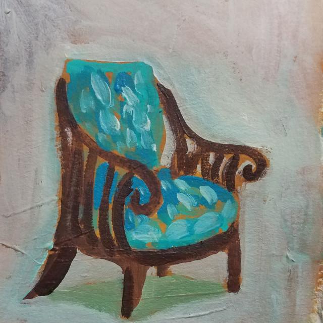 Turquois cushions, 2018
