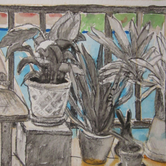 E. Tilly Strauss, Patio Plants, 2013