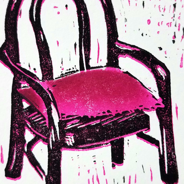 Chair with Pillow, 2017