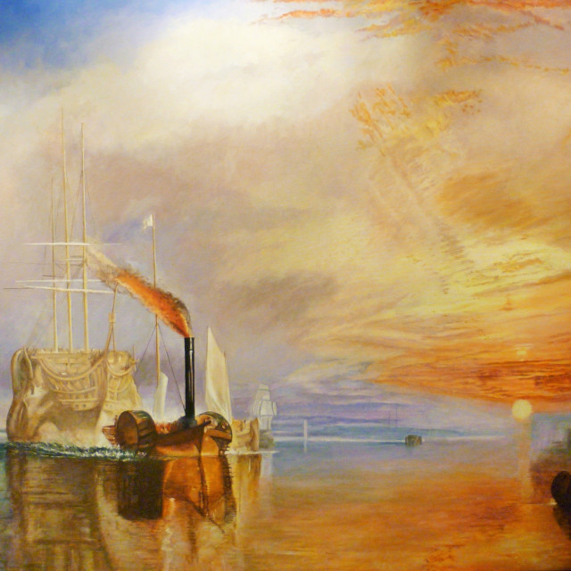 Peter Osborne's The Fighting Temeraire By Turner