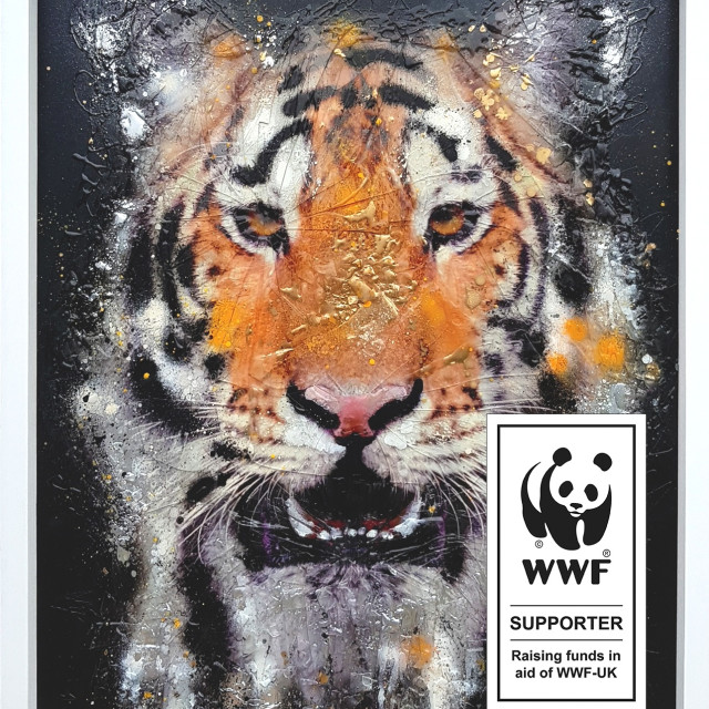 Supporting the WWF through Art