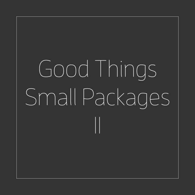 Good Things / Small Packages II, Small Works 2020