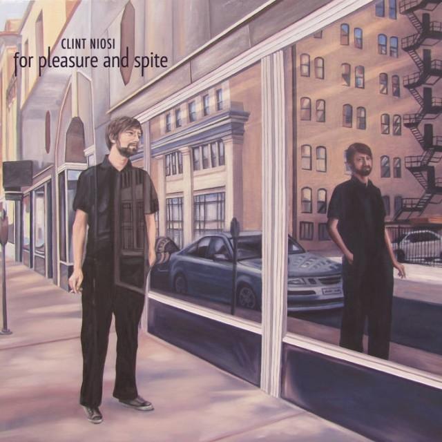 The cover of Clint Niosi's new album For Pleasure and Spite, by Devon Nowlin.
