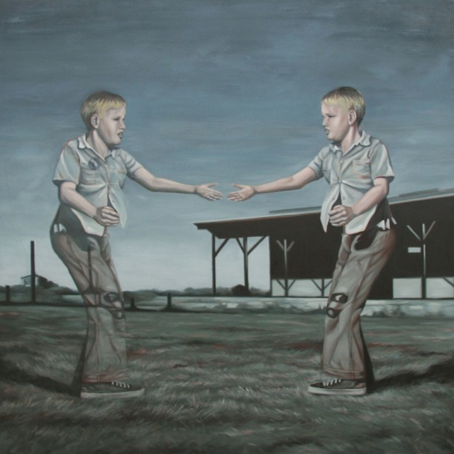 Devon Nowlin, Double or Nothing, Oil on Canvas