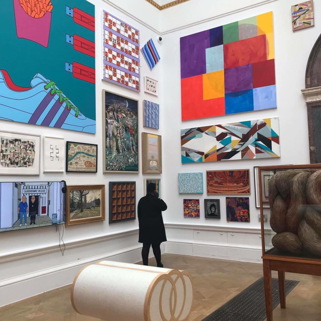 Installation View of the Summer Exhibition at the Royal Academy