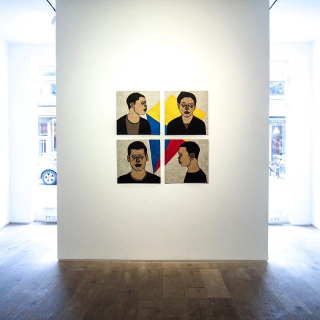 Life Vs Time by Ephrem Solomon at Kristin Hjellegjerde Gallery, London, UK.
