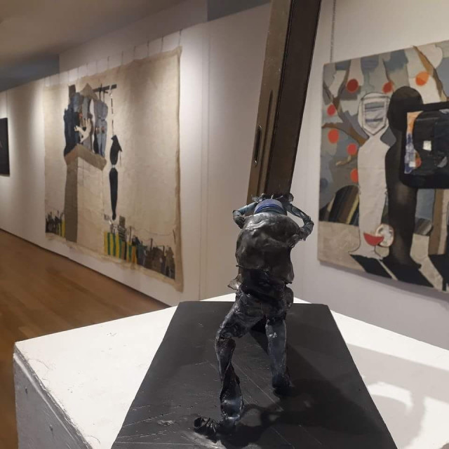 Contemporary Ethiopian Art at the Yarrow Gallery, Cambridgeshire, UK.