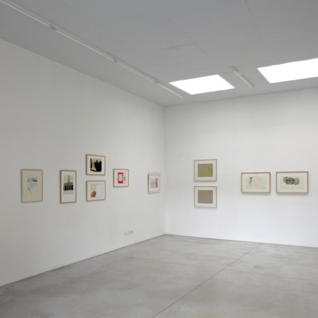 (It) Works on Paper. , Opening show with Agnes Maes, Peter Morrens, Thomas Müller, Ronald Noorman, Jürgen Partenheimer, Roger Raveel,...