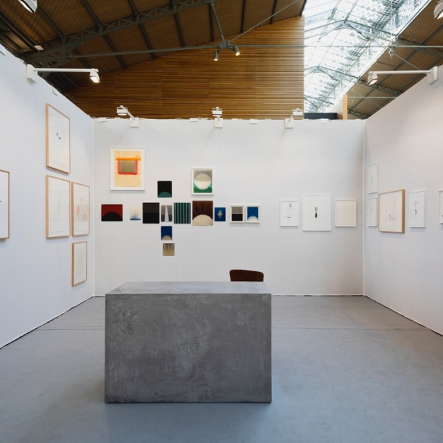 DRAWING NOW Art Fair 2019 , Group show Roberta Gigante, Agnes Maes, Jeff McMillan and Jürgen Partenheimer