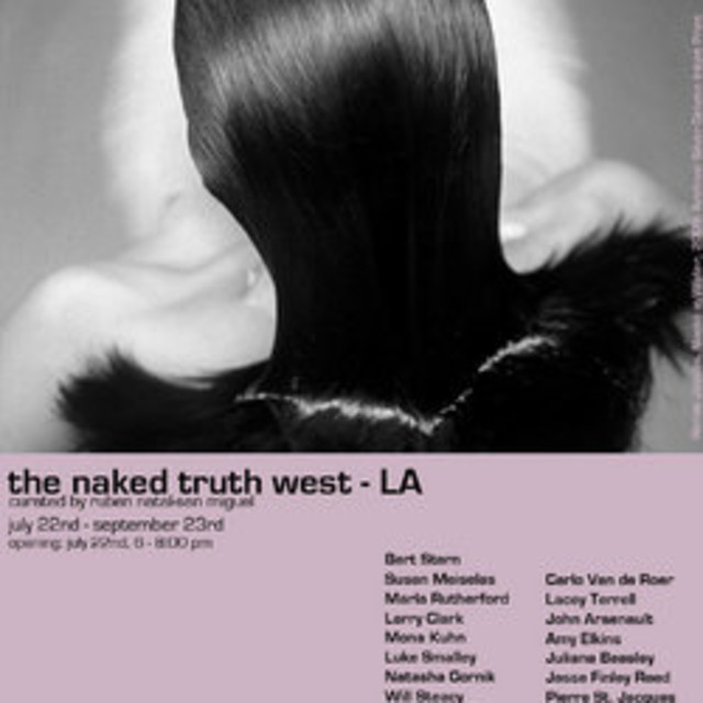 "Mona Kuhn and Carlo Van de Roer included in ""the naked truth"" exhibition"