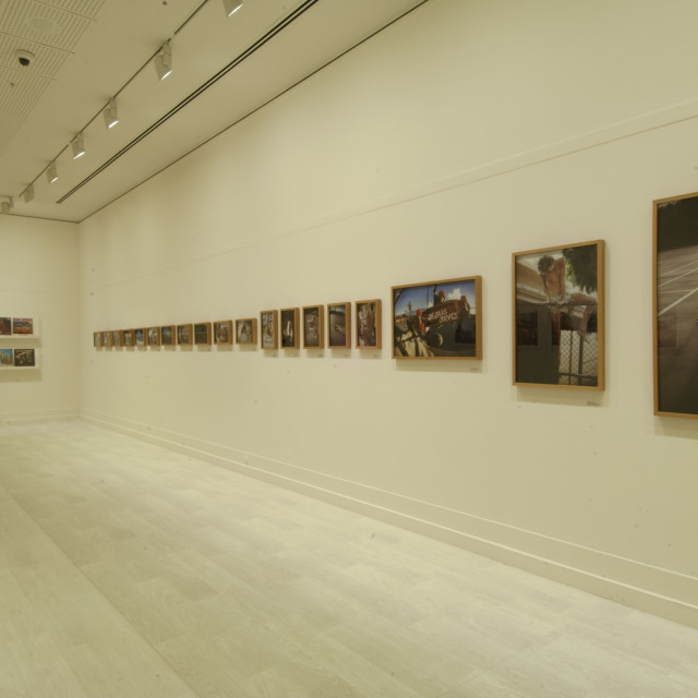"""""""Language of the Wall,"""" a group exhibition at the Pera Museum in Turkey includes work by Hugh Holland."""