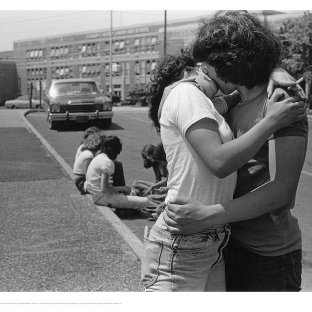 Wax Poster: Joseph Szabo The Kiss, 1978