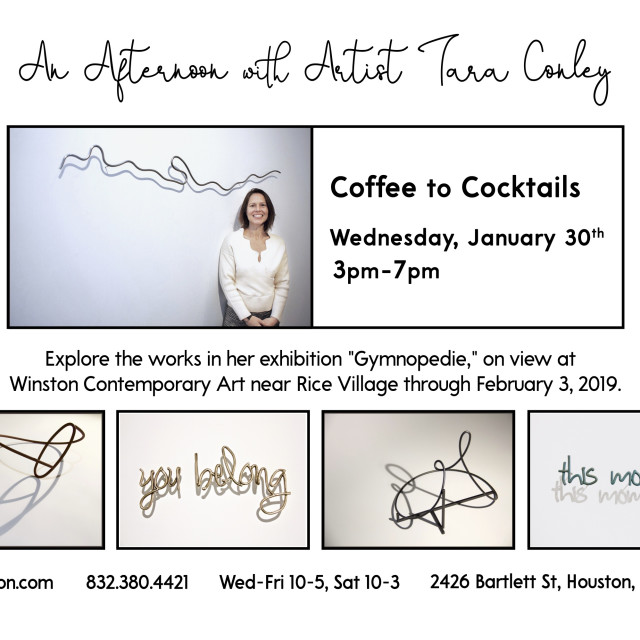 An Afternoon with Artist Tara Conley