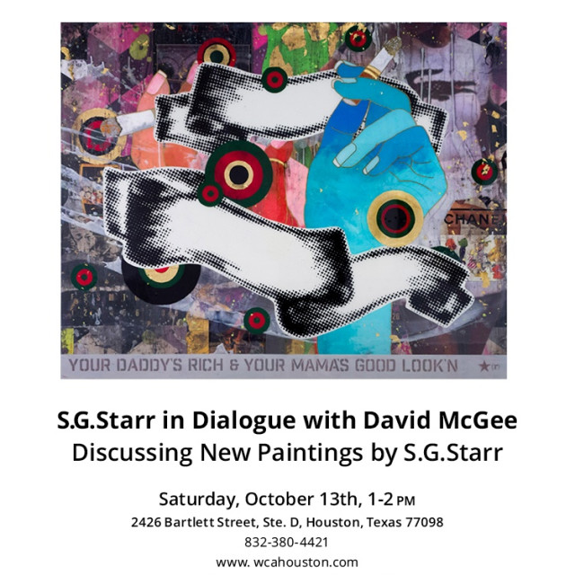 S. G. Starr in a dialogue with David McGee