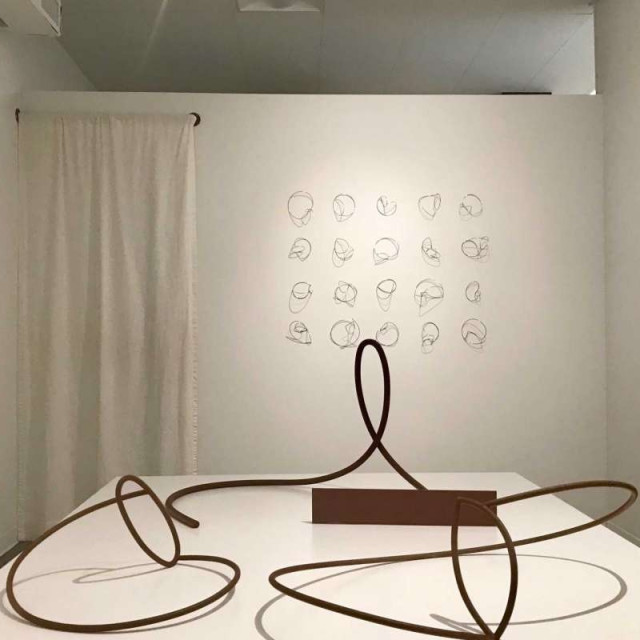 """2 of 4  A view of Tara Conley's show """"Gymnopedie,"""" which is on view through Feb. 3 at Winston Contemporary Art. Photo: Molly Glentzer / Houston Chronicle"""