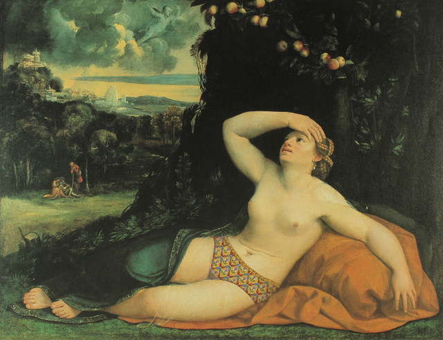 Alexander Gorlizki, Venus awakened by Cupid, 2003