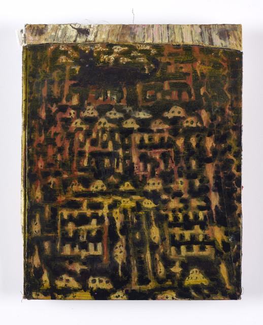 Andrew Cranston, Liza's Afghan rug, 2019