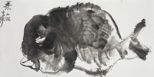 Li Jin 李津, A Fish 一条鱼, 2017
