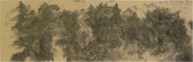 Bingyi 冰逸, The Impossible Landscapes: A Thousand Mountains in One Particle of Dust 不可能的仙山:一尘千山, 2018