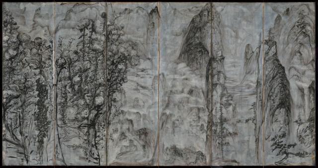 Peng Kanglong 彭康隆, Kunlun Mountain 昆仑虚, 2019