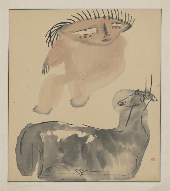 Li Jin 李津, The Tibet Series XI 西藏组画之十一, 1984