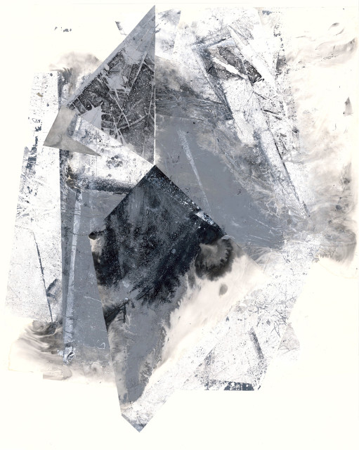 Zheng Chongbin 郑重宾, Revealing a Gravitational Shadow 显影坠体, 2019