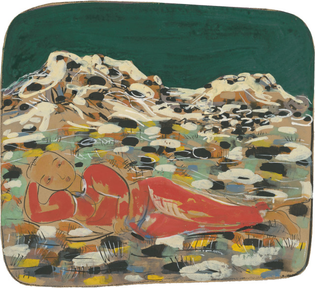 Li Jin 李津, Winter in Lhasa 拉萨的冬天, 1993