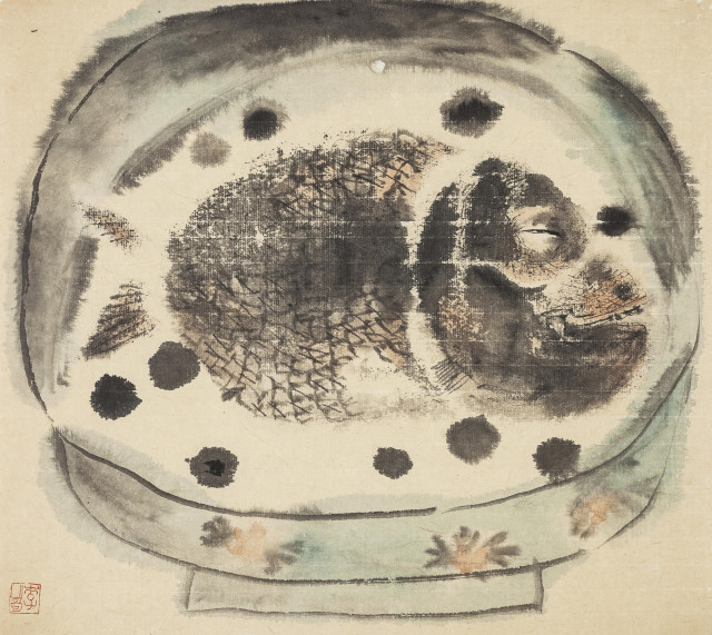 Li Jin 李津, Fish in a Bowl 碗中鱼, 1987