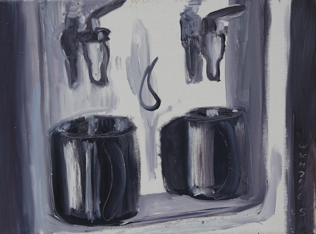Wu Xihuang 吳曦煌, Testament of Horse Abdomen - The Mugs of the Old Faculty Couples《馬腹遺書——老教授夫婦家的兩個口杯》, 2016