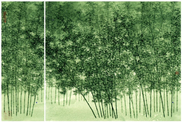 Koon Wai-bong 管偉邦, Luxuriant Greenery, 2017
