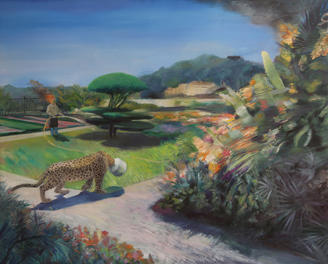 Wu Xihuang 吳曦煌, Testament of Horse Abdomen - Leopard Runs Away And Falls Into The Trap 《馬腹遺書——出走的花豹掉入陷阱》, 2016