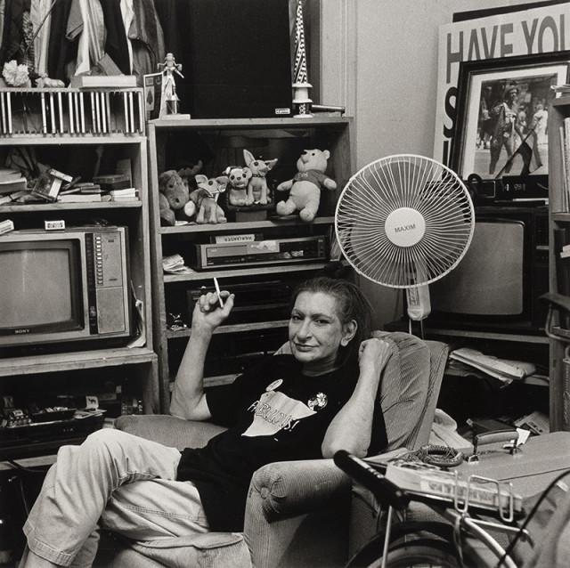 Robert Giard, Sylvia Rivera, Brooklyn, NY, 1999