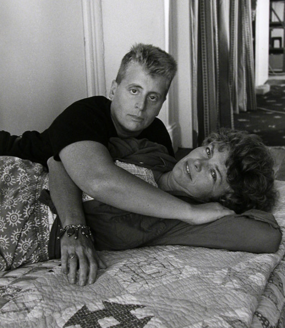 Robert Giard, Leslie Feinberg and Minnie Bruce Pratt, 1994
