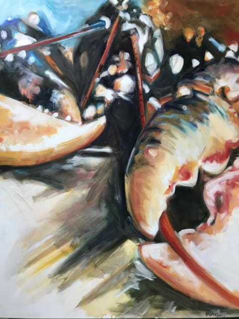 Michelle Parsons, Lobster Close Up, 2020
