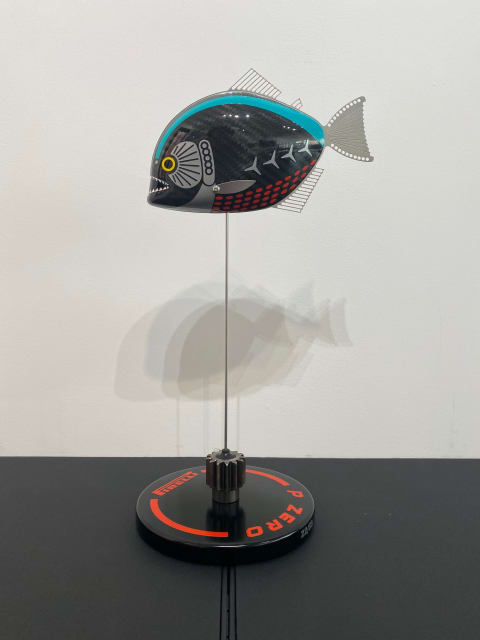 Alastair Gibson - Carbon Art, Petronas Baby Piranha