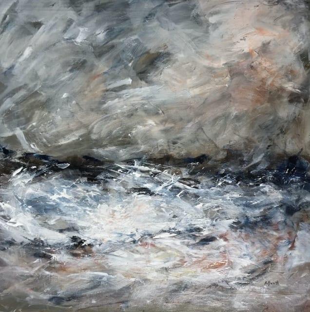 Andrea Scott, Abstract Seascape (041), 2017