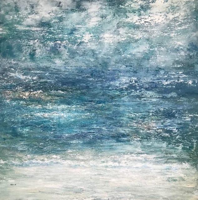 Andrea Scott, Blue Horizons, 2019