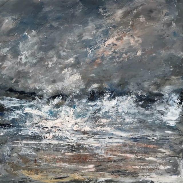 Andrea Scott, Abstract Seascape (040), 2017