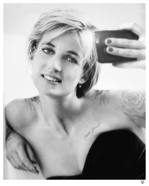 JJ Adams, Princess Diana Selfie, 2018