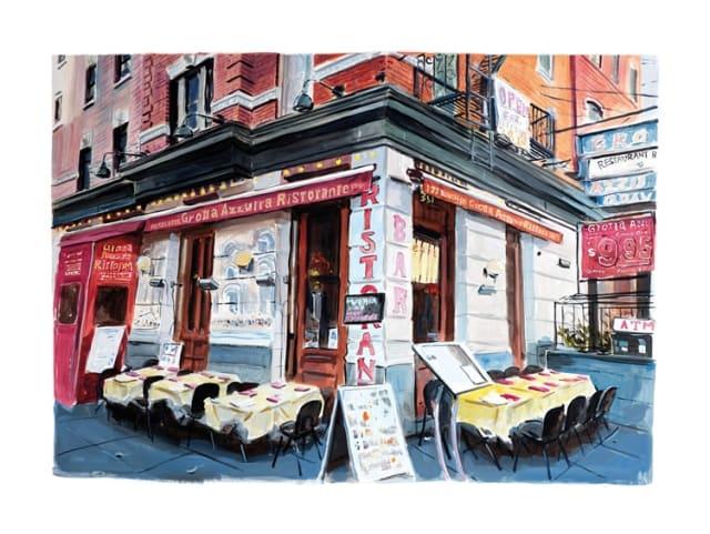Bob Dylan, Little Italy, Lower Manhattan, 2016