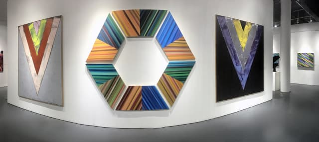 Color, Line, Form exhibition at Rosenbaum Contemporary in Boca Raton, Florida