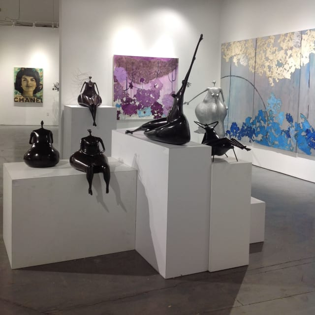 Abigail Varela: Sculptures exhibition at Rosenbaum Contemporary in Boca Raton, Florida