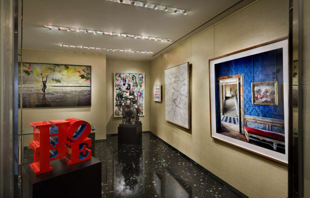 Rosenbaum Contemporary's Miami gallery in the St. Regis Bal Harbour Hotel