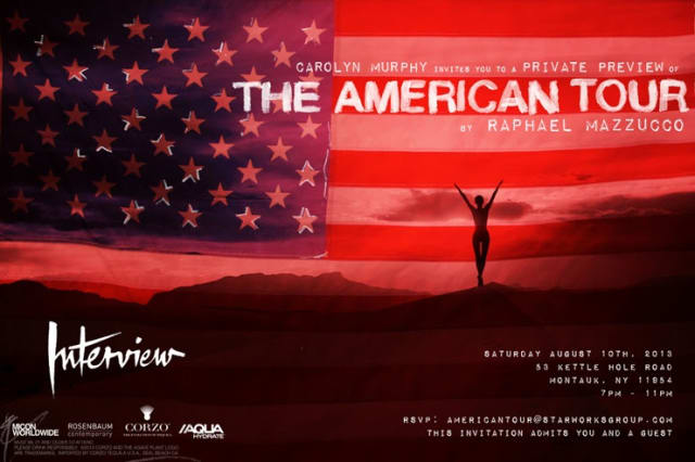 Invitation to The American Tour by Raphael Mazzucco