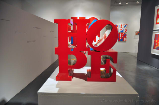 Robert Indiana Fever Reaches Florida with HOPE Exhibition at Rosenbaum Contemporary