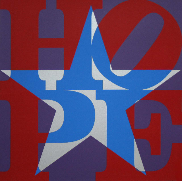 Star of HOPE (Red/Blue/Silver/Purple)
