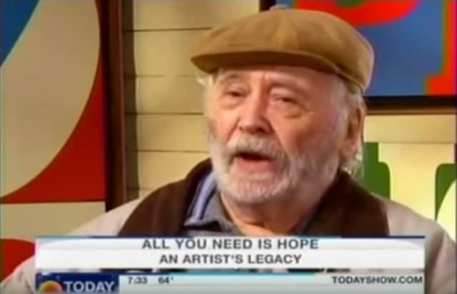 Robert Indiana: HOPE and the New Year
