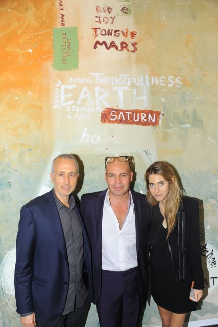 Howard Rosenbaum, Billy Zane and Lara Rosenbaum