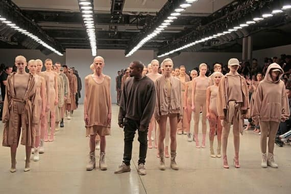 Kanye West, Yeezy clothing line, season two, conceived by Vanessa Beecroft