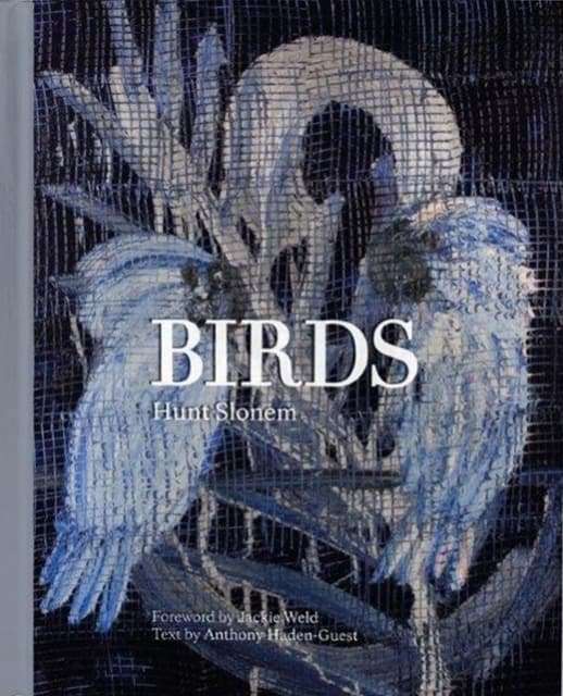 "Cover of Hunt Slonem's ""Birds"" book"